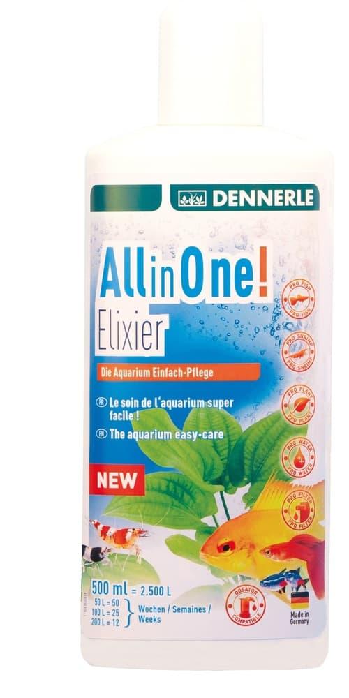 Добавка Dennerle All in One! 500мл Elixier для комплексного ухода за аквариумом