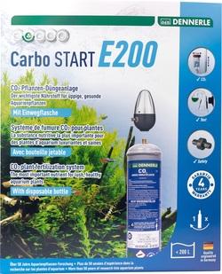 Система подачи углекислого газа Dennerle Carbo Start E200 с одноразовым баллоном 500г (редуктор без манометров)