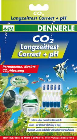 Тест Dennerle long-term test Correct + pH для непрерывного измерения CO2