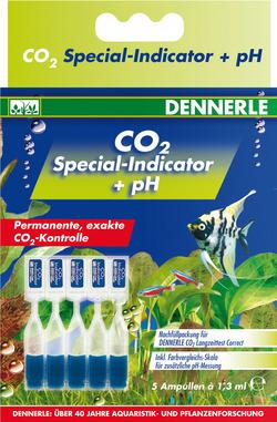 Комплект индикаторных жидкостей Dennerle для неприрывных тестов на CO2 (5 ампул)