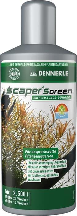 Удобрение комплексное DENNERLE Scaper's Green 250 мл