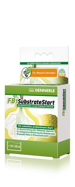 Добавка грунтовых бактерий Dennerle FB1 SubstrateStart 50г, на 120 литров