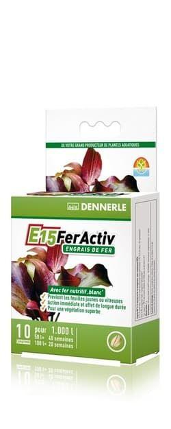 Добавка железа профессиональная высококонцентрированная DENNERLE E15 FerActiv 10 таблеток