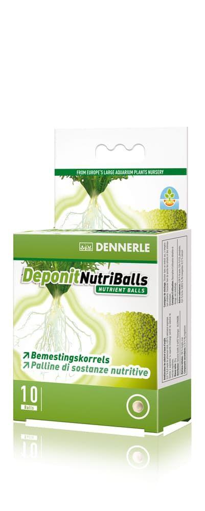 Добавка профессиональная грунтовая DENNERLE Nutriballs 10 таблеток