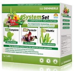Набор удобрений Dennerle Perfect Plant System Set для аквариумов до 1600 литров
