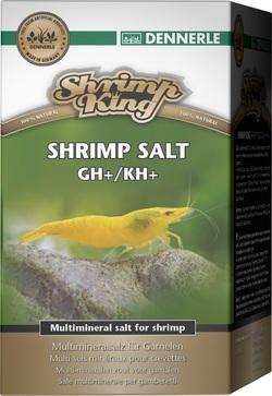 Добавка Dennerle Shrimp King SHRIMP KING SHRIMP SALT GH+/KH+ для повышении жесткости в аквариумах с пресноводными креветками, 200г
