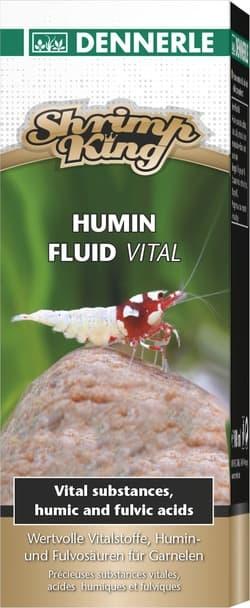 Добавка гуминовых кислот Dennerle Shrimp King Humin Fluid Vital для аквариумов с пресноводными креветками, 100мл