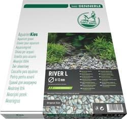 Грунт природный DENNERLE PLANTAHUNTER RIVER L 8-12 мм, 5кг