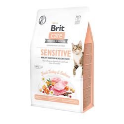 Брит 7кг Care Cat GF Sensitive Healthy Digestion&Delicate Taste для кошек с чувствительным пищеварением 540693