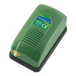 Барбус Компрессор воздушный для аквариума до 50л, 3л/м 2,5ватт одноканальный (001)