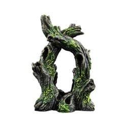 """Декорация с GLO-эффектом """"Скрученное дерево"""" 12,7х5,1х10,2см"""