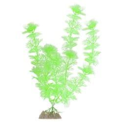 Растение пластиковое флуоресцентное зеленое 20,32см