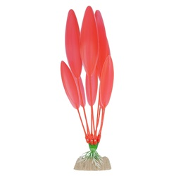 Растение пластиковое флуоресцентное оранжевое 20,32см