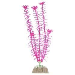 Растение пластиковое флуоресцентное розовое 20,32м