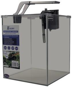 Аквариум GLOXY Optic Set Professional Edition 18 литров с оборудованием