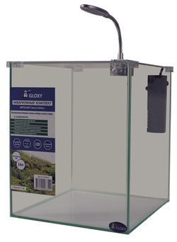 Аквариум GLOXY Optic Set Classic Edition 18 литров с оборудованием