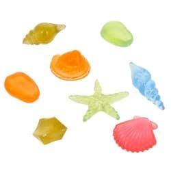 Флуоресцентная аквариумная декорация GLOXY Набор ракушек 8шт
