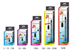 Нагреватель компактный ISTA с предустановленной температурой 25, 28 и 33°С, высота 65мм, 15Вт, арт.486