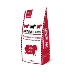 Kennel Pro для взрослых собак всех пород Lamb&Rice 15 кг (ягненок с рисом)