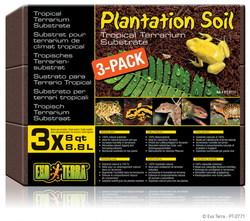Субстрат для террариума EXO TERRA кокосовая крошка Plantation soil 3х8,8л