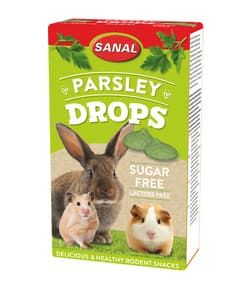 SANAL витамины для грызунов БЕЗ сахара Parsley Drops sugar free 45г (Петрушка)