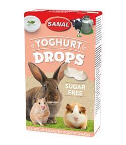 SANAL для грызунов БЕЗ сахара Yoghurt Drops sugar free 45г (Йогурт)