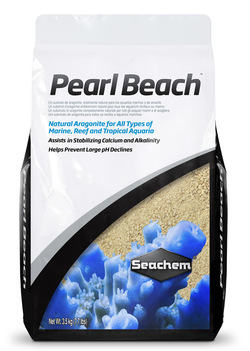 Грунт арагонитовый Seachem Pearl Beach 10кг
