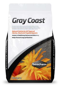 Грунт кальцитовый Seachem Gray Coast 10кг
