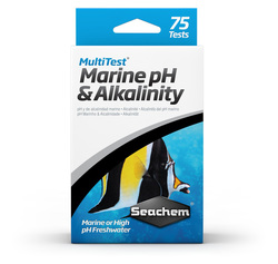 Тест для воды Seachem MultiTest: pH & Alkalinity