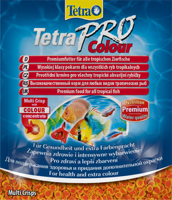 Корм для рыб TetraPro Colour Sachet 12гр