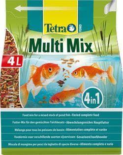Корм для прудовых рыб Tetra Pond MultiMix 4л