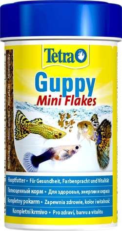Корм для рыб TetraGuppy хлопья 100мл