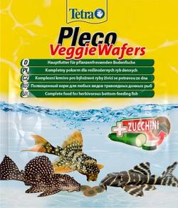 Корм для рыб TetraPleco Veggie Wafers 15г