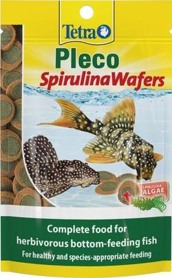 Корм для рыб TetraPleco Spirulina Wafers 15г пакет