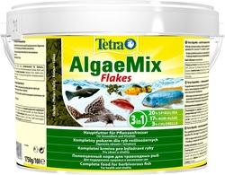 Корм для рыб Tetra Algae Mix 10л хлопья растительные (ведро)