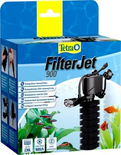 Фильтр внутренний Tetra FilterJet 900 компактный для аквариумов 170-230л, 900л/ч, 12Вт