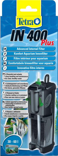 TETRA Фильтр для аквариума внутренний IN400 Plus 400л/ч до 66л