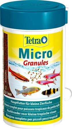 Корм для рыб TetraMicro Granules 100мл микро гранулы