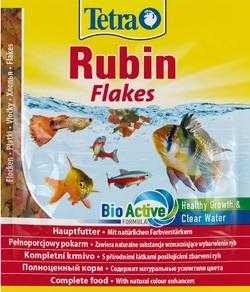 Корм для рыб TetraRubin хлопья для окраса 12г