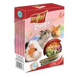 Vitapol Дропсы для грызунов и кроликов - mix 75 г