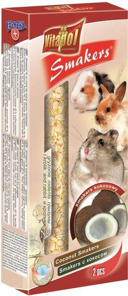 Vitapol Лакомство Smakers для грызунов и кроликов с лесными ягодами STANDARD 90 г