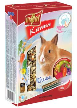 Vitapol Корм для молодых кроликов (от 8 до 12 месяцев) полнорационный Юниор 400 г