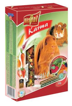 Vitapol Корм для морских свинок овоще-фруктовый KARMEO 340 г