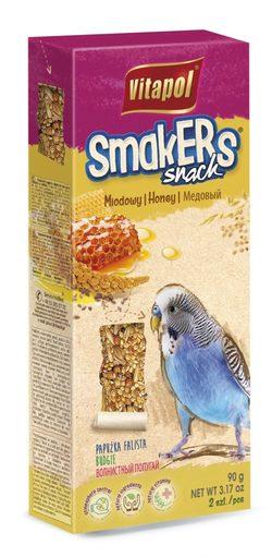 Vitapol Лакомство Smakers медовый для волнистых попугаев STANDARD 2 по 90г