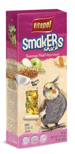 Vitapol  Лакомство Smakers® с фруктами для корелл STANDARD 90 г