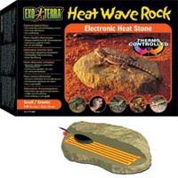 Камень для рептилий малый с обогревателем 15.5x10 см - 5 Вт. PT2000