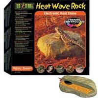Камень для рептилий средний с обогревателем 15.5x15.5 см - 10 Вт. PT2002