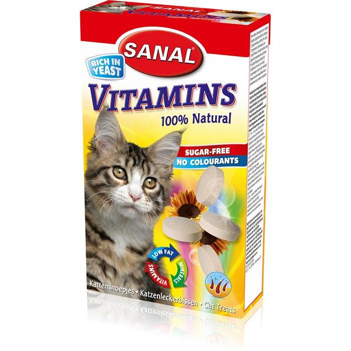 SC3000 витамины для кошек SANAL Vitamins 100 таб./50г