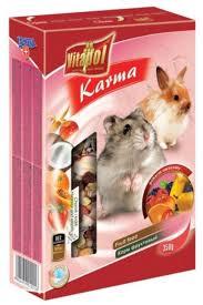 Vitapol Корм для хомяков и кроликов фруктовый KARMEO 350 г